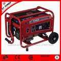 2.8KVA Generador de arranque eléctrico portátil monofásico gasolina