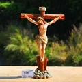 personalizada de fábrica al por mayor de la resina de la cruz de jesús