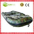 380 camuflagem militar de luxo barcos infláveis