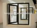 Italia sistema de ventana abatible de aluminio/de vidrio de la ventana en alta calidad dmt-ca-601