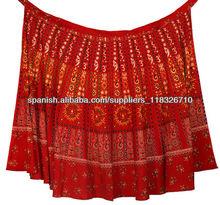 las mujeres's nuevo indio algodón envolver alrededor de las faldas falda envolvente