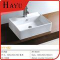 HY482 rectangular cerámico avabo del baños cuencos