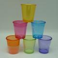 desechables característica y venta al por mayor baratos de plástico para beber vasos de color
