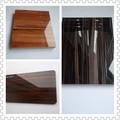grão de madeira placa de acrílico brilhante de alta superfície da folha de MDF usado para móveis