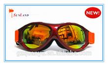 china por mayor de alta calidad elástico correa logotipo personalizado protegidas motor gafas