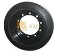 máquina de trituração de pneus sólidos