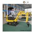 0.05m3 hidráulico excavadora de ruedas y 16kw similar con hyundai excavadoras para la minería