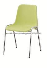moderna nueva silla de plástico apilables