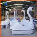 parque acuático monta 2 asientos cisne bote de pedales para sale.Cheapest barco de paleta del cisne