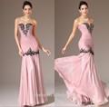 Jm. Bridals cy2348 nuevo modelo sirena cuentas apliques de gasa vestido de noche largo 2014