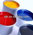 De tinta para pulsera de silicona de impresión