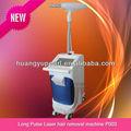 mais novo salão de beleza uniforme nd yag 1064nm laser de pulso longo mulheres e homens máquina depladora para venda p003