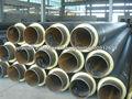 espuma de poliuretano de tubería de acero de aislamiento de petróleo y gas