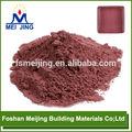 caliente la venta gran stock de óxido de hierro pigmentos para el mosaico de cristal