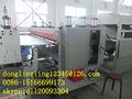 Pp de doble pared corrugado hoja hueco de la máquina( de plástico de la máquina)