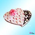 de corazón caja de regalo para el chocolate
