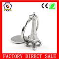 astilla de la torre eiffel personalizadosaleación metal llavero/clave de la la promoción( hh- clave de la cadena- 045)