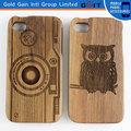 De madera sin barniz de Buho Fundas para iPhone 4G