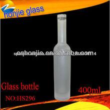 Hecho en China Calidad Pequeño vidrio botella del licor de alta Venta