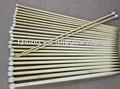 Bambú para hacer punto herramienta, la aguja de color, 2.0mm-10mm tamaño, color natural y carbonizado