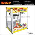 La venta caliente! Comercial de palomitas de maíz eléctrica de la máquina, máquina de snacks