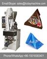 doces máquina de embalagem com o saco do triângulo