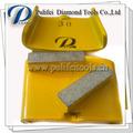 El segmento de 40*10*10mm mojado diamante piso de concreto pulido almohadillas de pulido para htc amoladoras/moledoras/esmeriles