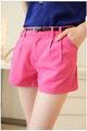 Verano 2013 simple caramelo pantalones cortos de color todo- que coincida con pantalones cortos