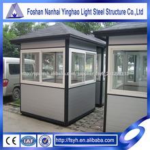 Kiosco Unidad modular prefabricado Portable