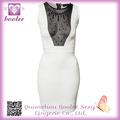 2014 vestido de cóctel de moda CLUB DETALLE JERSEY LV DIAMOND VESTIDO