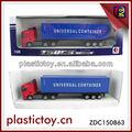 Caliente mini correderas diecast camión, camiones modelo zdc150863