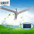nuevo 2015 solar ventilador de techo 56 pulgadas 12v dc ventilador de techo ventilador de techo kdk mando a distancia
