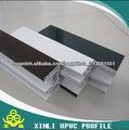 Perfil de PVC para puertas y ventanas