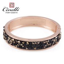 moda brazaletes de oro chapado diseños