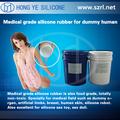 Silicone líquido para avirulent insipidez brinquedo sexual de borracha de silicone matéria-prima
