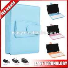 teclado de cuero caso con micro usb para android teclado para tablet