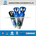 venta al por mayor de aluminio del cilindro de alta presión del cilindro de gas de aluminio del cilindro de oxígeno