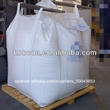 bolsa de envases flexibles / bolso grande tejido pp para 1000 kg de cemento