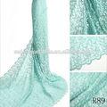 diferentes tipos de tipos de tela de encaje de la moda de encaje francés material