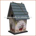 casa del pájaro de madera