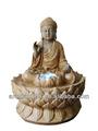 Promoción muestra gratuita fuente feng shui Buda artesanal
