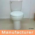stock de bienes de dos wc pieza del sistema de inventario de los bienes dt668