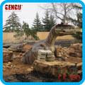 parque temático de simulación molde de dinosaurio