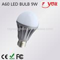 Innovador de forja en frío 3w~10w led bombilla de la lámpara 104lm/w cri> 80 bombilla led de luz