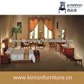 venda quente popular moderno hotel de luxo cama estofada