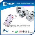 shenzhen led de fabricación 5w rgb led partido decoración