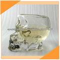 botella de cráneo de cristal de 5 oz