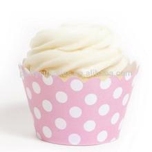 venta al por mayor baratos envolturas de la magdalena de cumpleaños para niñas fiesta de navidad de torta de la boda