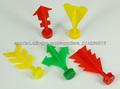 Aerolínea, partes pegajosas dardos de juguetes