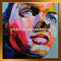 atacado handmade figura abstrata moman rosto pintura a óleo